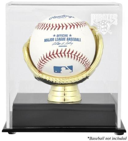 Pittsburgh Pirates Gold Glove Single Baseball Logo Display Case
