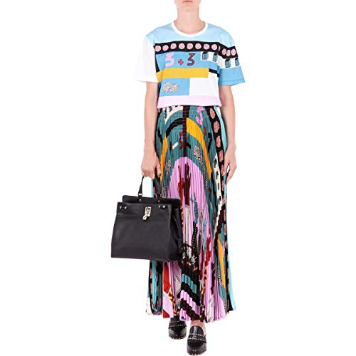 Valentino Donna T Azzurro Cotone shirt bianco Nb0mg06h3nf0bo Tq7nET1f