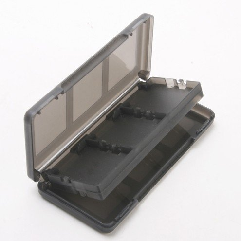 Ds Lite Game Holder - SODIAL(R) 6 in 1 Black Game Case Holder Cartridge Box For Nintendo DS Lite DSi XL LL