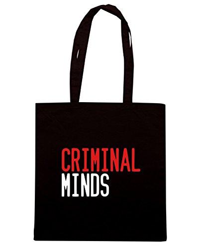 T-Shirtshock - Bolsa para la compra OLDENG00455 criminal minds Negro