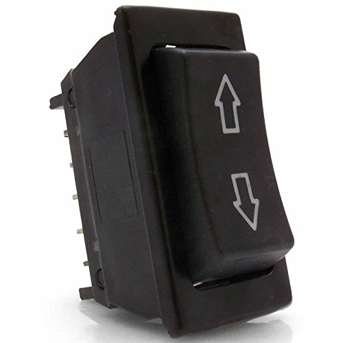 Keep It Clean SW2 Illuminated 3 Position Rocker Switch with Arrows