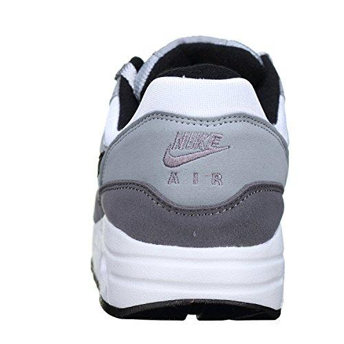 G garçon Basket Air 1 Nike Max 108 Gris GS Blanc Blanc Gris 807606 Noir URYBqwg