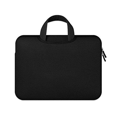 Protectora Del Bolso De Netbook Maletin De Ordenador Portatil Funda Portatil De Transporte Para Laptop Black