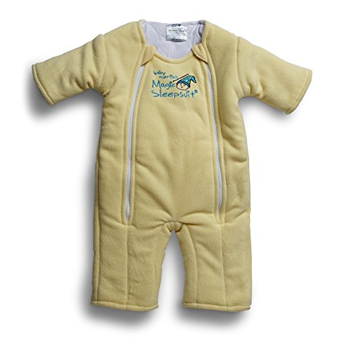 Baby Merlin's Magic Sleepsuit Microfleece - Yellow - 3-6 months
