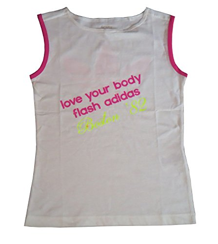 adidas 303805 FLASH TANK Damen Shirt Top, weiß, EU 38