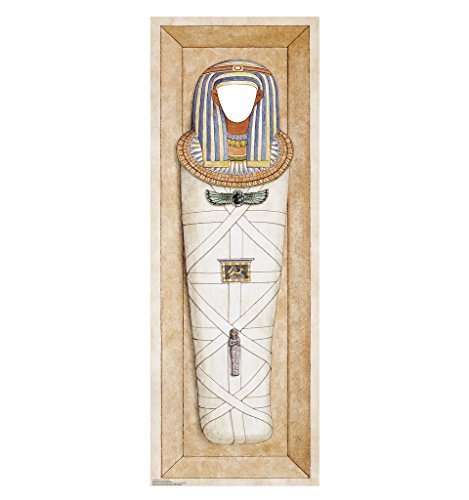 Mummified Pharaoh Stand-In - Advanced Graphics Life Size Cardboard Standup (Egyptian Party Decorations)