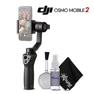 DJI osmo Mobile 2 Handheld Smartphone Gimbal Starter Bundle 41gLeNmOXgL