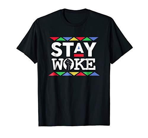 Stay Woke Against Inequality! Black Power T-Shirt