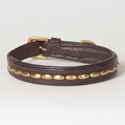 Small Genuine Leather Padded Decorated