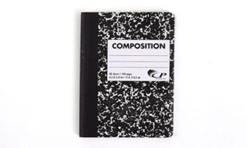 - Carolina Pad Mini Marble Composition Book, 4.5 x 3.25 Inches, 80 Sheets, Color May Vary (90770)