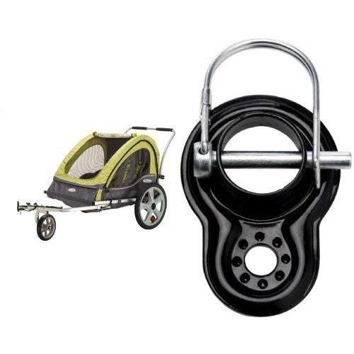 InStep Sierra Double Bicycle Trailer and Coupler Attachment - InStep & Schwinn Bike Trailers Bundle (Trailer Sierra)