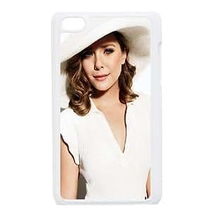 iPod Touch 4 Case White Elizabeth Olsen In White Dress C7C8WH