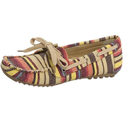 Top Moda Décontracté Confortable Chaussures Plates Staple52 Rouge, Noir Ou Beige Beige