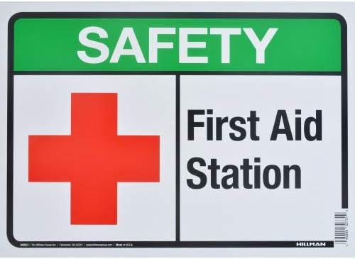 First Aid International Symbol .040 Metal Aluminum Sign