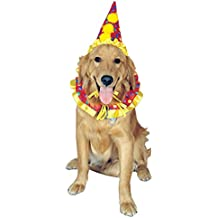 Rubies Costume Company Clown Pet Costume Collar and Hat