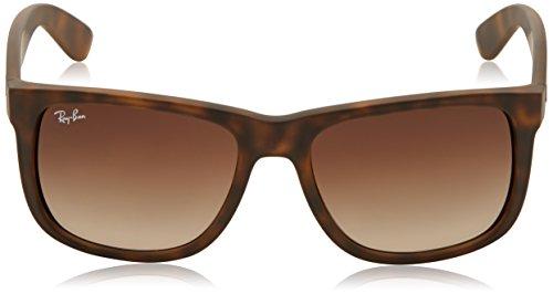 sol Marrón Ray Unisex Ban 55 mm Justin Gafas 710 de Brown 13 RB4165 XUaqUxp