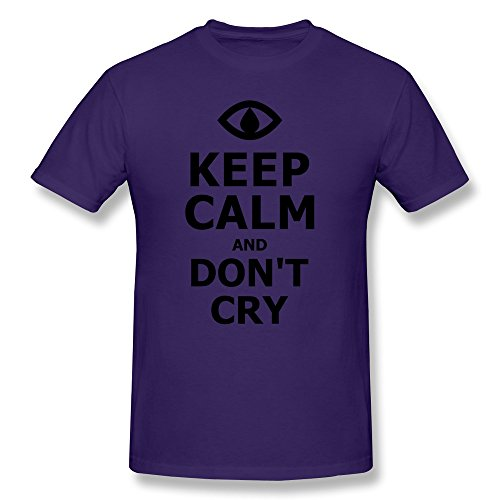 Free Jazz Clarinet Music (AJLNA Men's Keep Calm And Don't Cry T-Shirt X-Small)