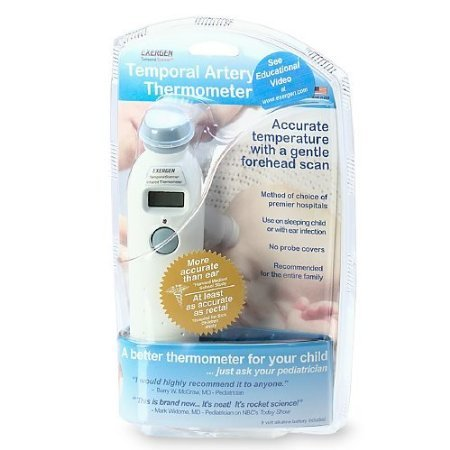 Exergen Temporal Artery Thermometer 1 ea by Judastice