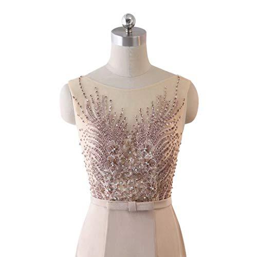 Spitze Brautkleid Love King's Meerjungfrau Abendkleid Pailletten Lange Formale 1 Frauen Stickerei wYRzHqrR