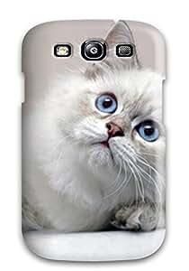 Galaxy S3 Cat Print High Quality Tpu Gel Frame Case Cover