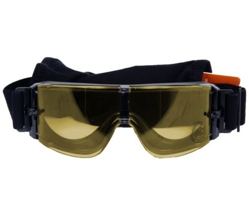 OFT FRAMELESS YELLOW SAFETY GOGGLES Googles Glasses Eye Wear ()