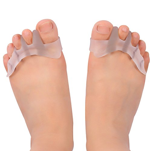 Gel Toe Separator Toe Spacers Toe Stretchers for Men and Women Easy Wear in Shoes, Quickly Alleviating Pain After Yoga and Sports Activities (Toe Separators)