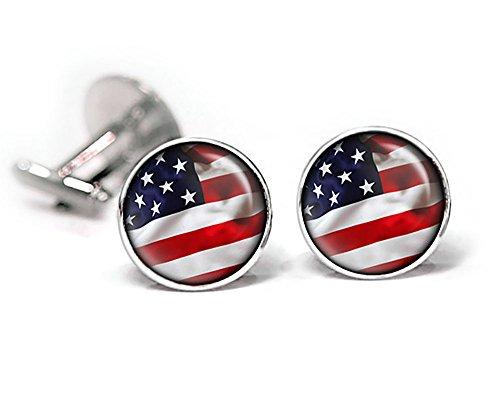 Us Flag Cufflinks - 5
