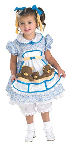 Goldilocks Three Bears Halloween Costumes (Cute as Can Be Toddler Costume,)