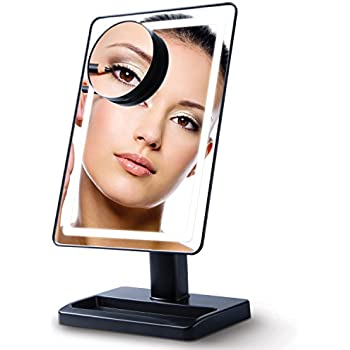 Amazon Com Lighted Makeup Mirror With Magnification 10x