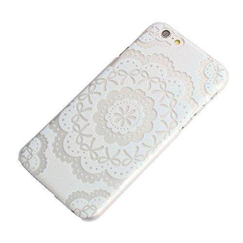 Sannysis für iphone 6 4.7inch case;Bowknot-Blumen-Muster-harte Kasten-Abdeckung Haut