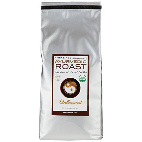 Non Ic Beverage - Organic Caffeine-free Coffee Substitute By Ayurvedic Roast - GMO free, Vegan Herbal Coffee - Unflavored 4lb