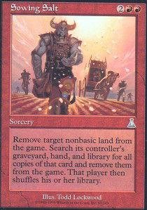 Urzas Destiny Magic Card - Magic: the Gathering - Sowing Salt - Urza's Destiny