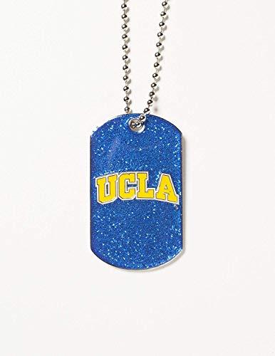 NCAA UCLA Bruins Glitter Dog Tag