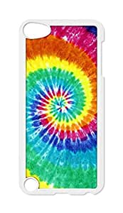 Shark?Rainbow tie dye pattern Snap-on Case for iPod Touch 5