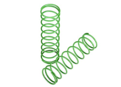 Traxxas 3758A Green Shock Springs, Front (pair)