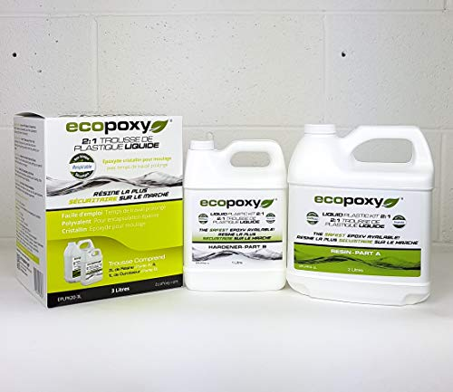 3 Liter Liquid Plastic 2:1 Kits by Ecopoxy (Image #6)