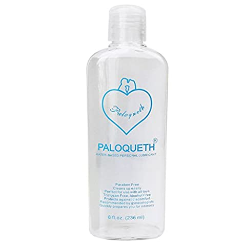Water Based Lubricant for Women,PALOQUETH Personal Lube for Vagina Anus Silicon Adult Toys 8 fl.oz (Sex Toys)