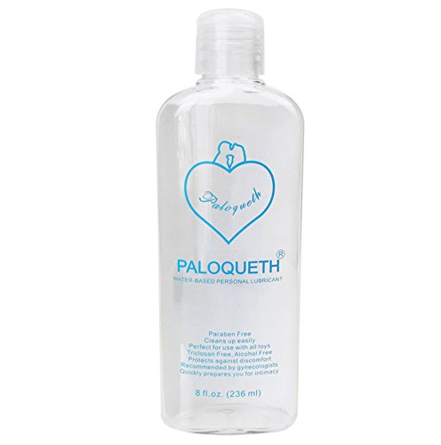 Water Based Lubricant, PALOQUETH Personal Lube for Vagina Anus and Adult Toys 8 fl.oz (236ml)