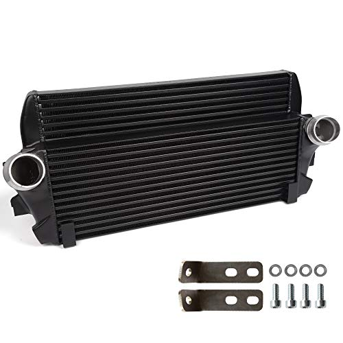 (New High Performance Front Mount Intercooler For BMW F01/06/07/10/11/12 OEM 200001069,Black )