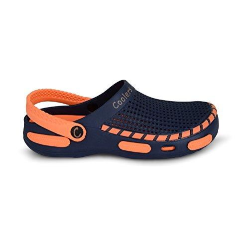 Coolers  Wp14-383,  Jungen Herren Damen hinten offen marineblau/orange