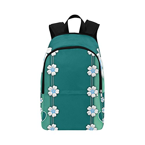 Texture Love Hearts Wishes Custom Outdoor Shoulders Bag Fabric Backpack Multipurpose Daypacks Adult