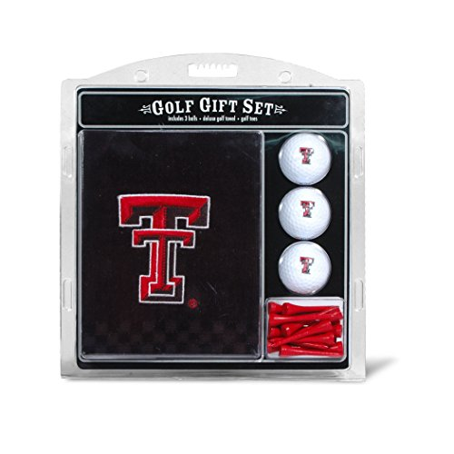 Texas Tech University Embroidered Towel Gift Set
