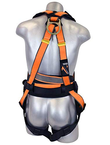 Warthog MAXX Side D-Ring Harness with Removable Belt and Additional Padding (XXXL), OSHA/ANSI Compliant by Malta Dynamics (Image #2)