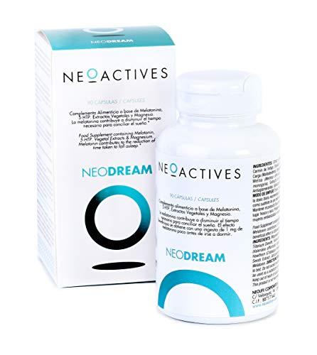 NeoDream. Con 5-HTP, Valeriana, Melisa, Espino Blanco, Magnesio y ...