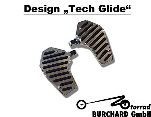 800 600 750 marchepieds conducteurs Tech Glide Suzuki VS 400 1400/Intruder