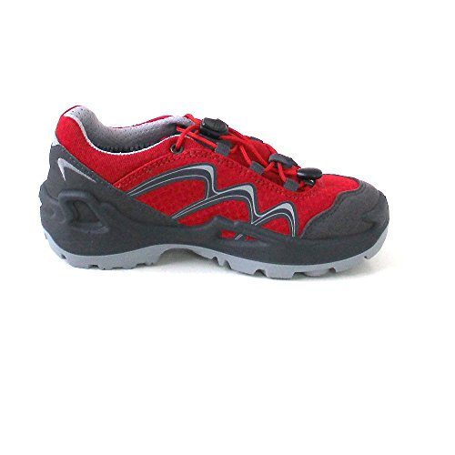 light Diego lime Red Outdoorschuhe Lo Lowa GTX children Grey Red grey 40qXXd