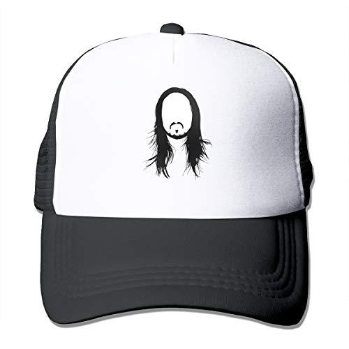 NaohBent Steve Aoki Womans V Collar T-Shirts Black