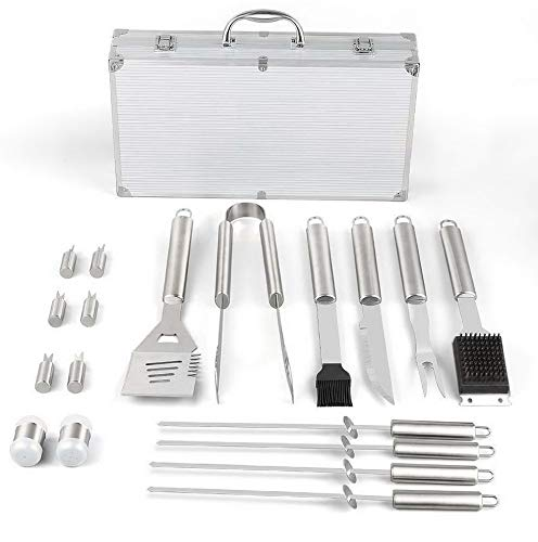 Vitra Set Chair - Mikash Stainless Steel Tools Set- 18 Piece Accessories, Aluminum | Model GRLLST - 108