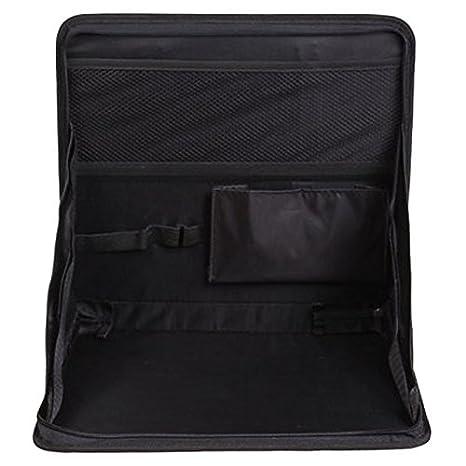 Soporte para ordenador portatil de coche - TOOGOO(R) Organizador de viaje ordenado de