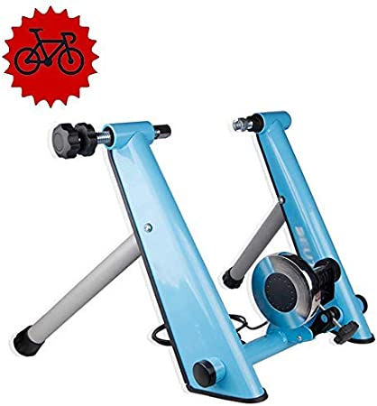 DX Entrenador de Bicicleta magnética - Rodillo de Entrenamiento de Ciclismo - Entrenador de Resistencia magnética de Bicicleta Entrenador de Bicicleta Plegable - MTB Bicicleta de Carretera Bici: Amazon.es: Hogar